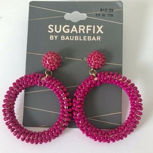 Sugarfix by Baublebar Granita EARRINGS Pink A1
